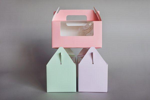 קופסת קרטון צבעונית